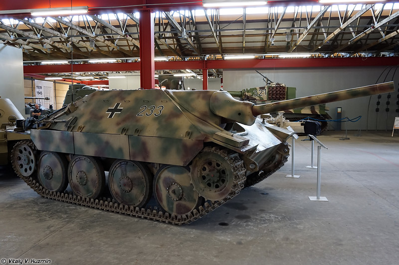 Швейцарская САУ G-13 переделанная в Jagdpanzer 38(t) Hetzer (Jagdpanzer 38(t) Hetzer vismod G-13)