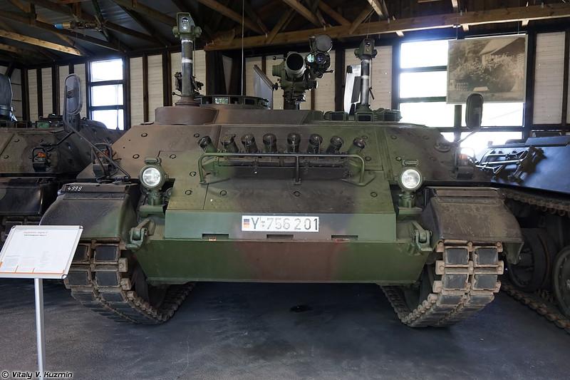 Самоходный ПТРК Raketenjagdpanzer 4 Jaguar 2 (Raketenjagdpanzer 4 Jaguar 2 ATGM tank destroyer)