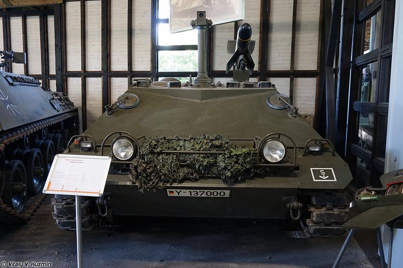 Самоходный ПТРК Raketenjagdpanzer 1 (Raketenjagdpanzer 1 ATGM tank destroyer)