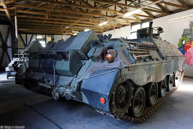 Самоходный ПТРК Raketenjagdpanzer 3 Jaguar 1А3 (Raketenjagdpanzer 3 Jaguar 1A3 ATGM tank destroyer)