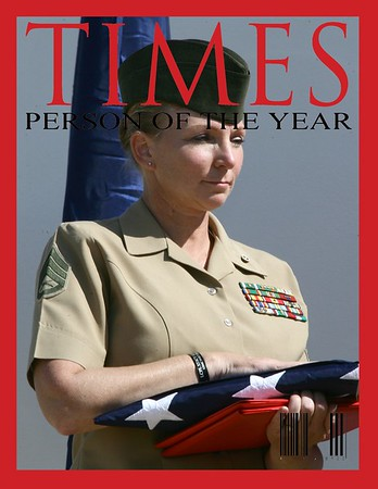 Diane Durden Marine Corps Retirement