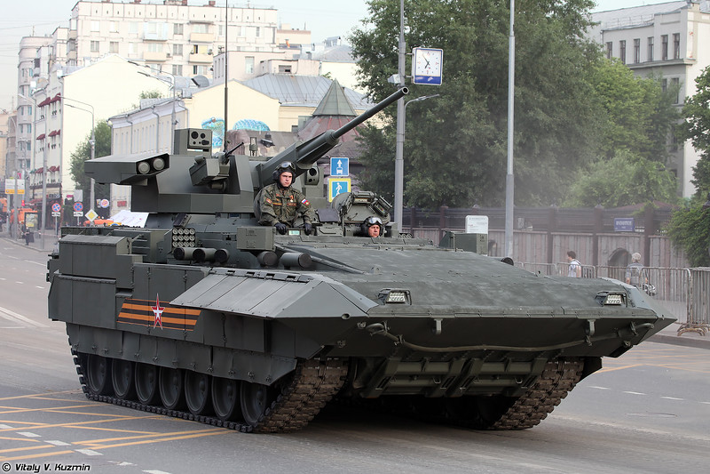 ТБМП Т-15 Армата с боевым модулем Кинжал (T-15 Armata with Kinzhal turret)