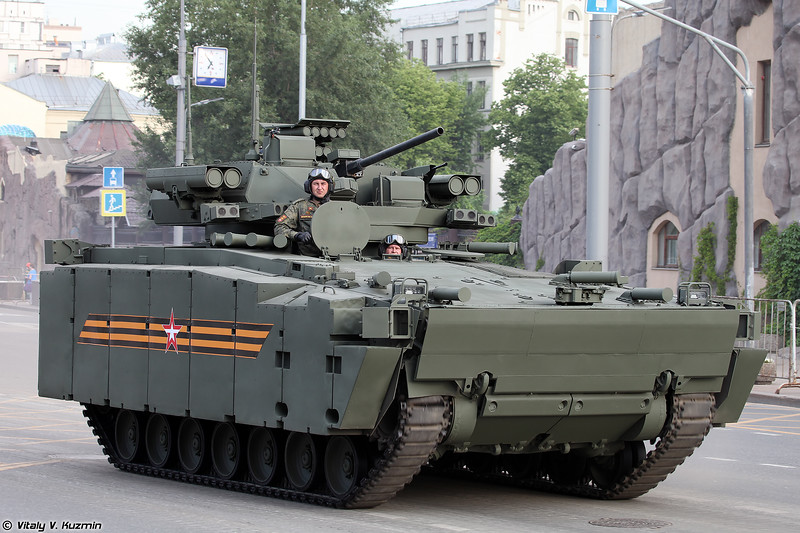 БМП Б-11 объект 695 Курганец-25 с боевым модулем Эпоха (B-11 object 695 Kurganets-25 with Epokha turret)