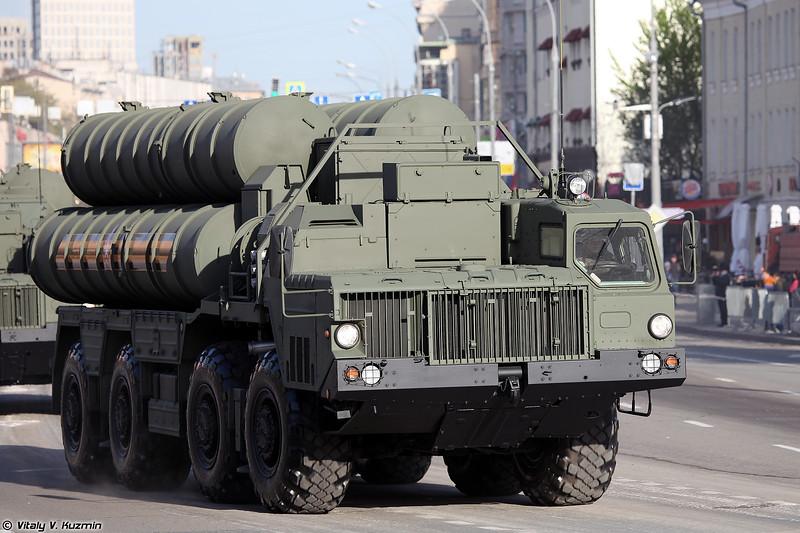ПУ 5П85СМ2-01 из состава ЗРС С-400 (5P85SM2-01 TEL for S-400 system)