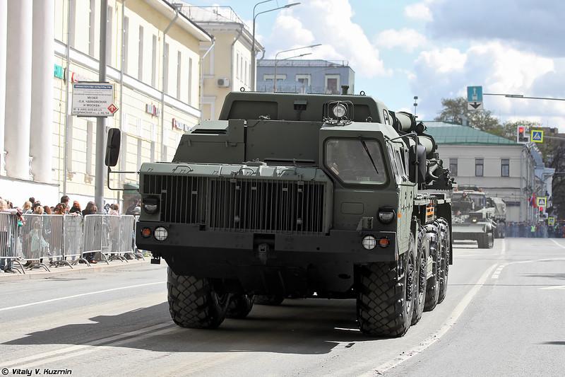 БМ 9А54 РСЗО 9К515 Тонадо-С (9A54 launcher of 9K515 Tornado-S MLRS)