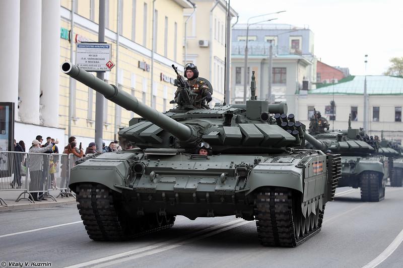 Танк Т-72Б3М / Т-72Б3 образца 2016 г. (T-72B3M / T-72B3 mod. 2016)