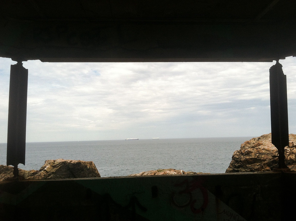 East Point Coastal Defense area This bunker was used for the magnetic warning system. If a German u-boat or surface ship approached Boston Harbor this outpost would be able to detect it. Amazing that it's still I place today.