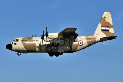 Egyptian Air Force Lockheed C-130H Hercules SU-BAL 1280 (msn 4802) BWI (Keith Sommer). Image: 951713.