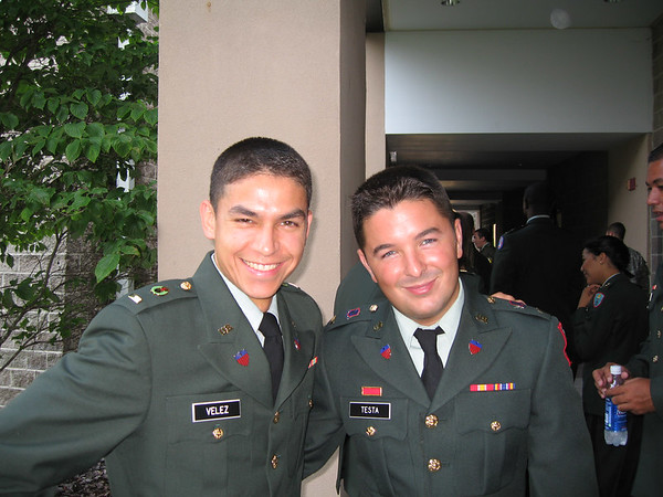 We were soldiers once. And young.