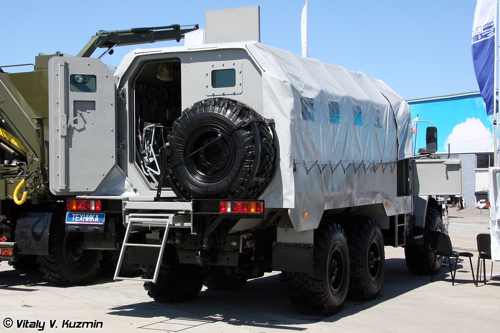 Спецавтомобиль Федерал-4259 на шасси Урал-55571 (Special vehicle Federal-4259 on Ural-55571 chassis)