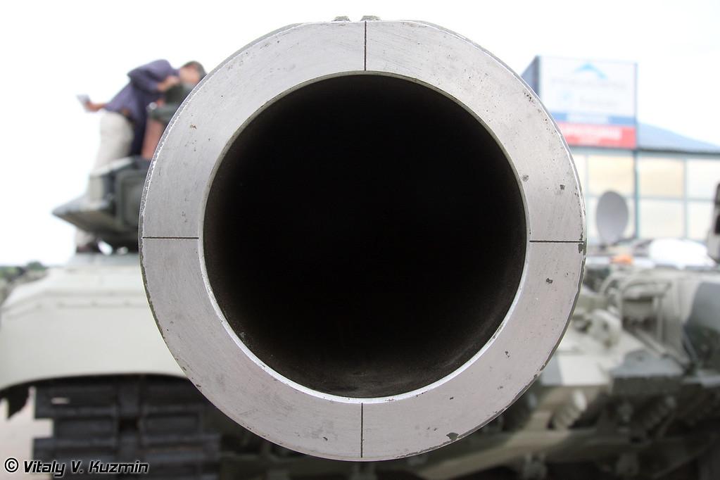 125-мм гладкоствольная пушка 2А46М (125-mm smoothbore 2A46M gun)