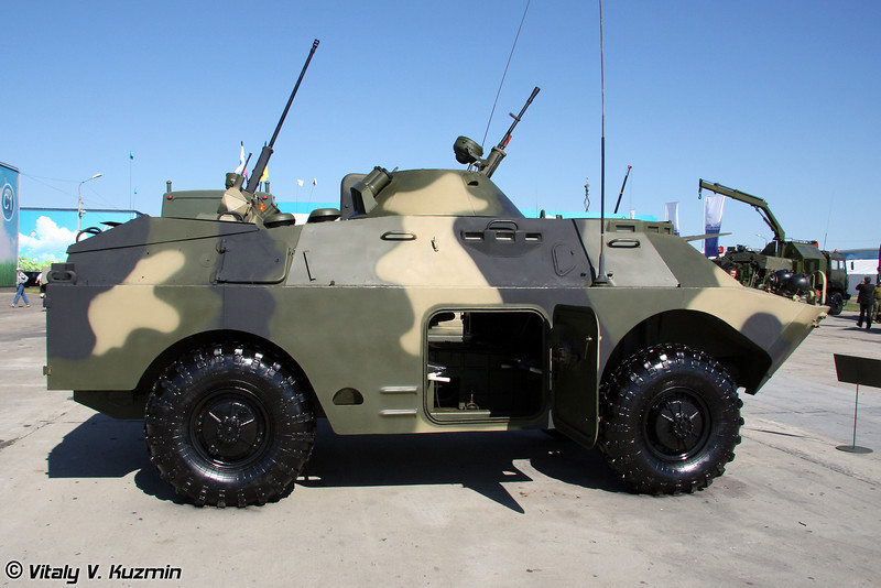 БРДМ-2 с башенной пулеметной установкой МА7 (BRDM-2 with MA7 turret)