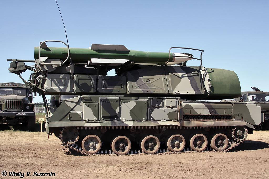 Самоходная огневая установка 9А310 ЗРК Бук-М1-2 (9A310 self-propelled launch vehicle for Buk-M1-2 Air defence system)