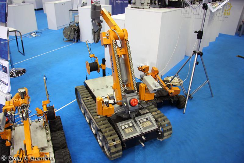 Мобильный робототехнический комплекс Варан (Varan mobile robot complex)