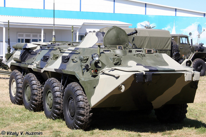 Командно-штабная машина Р-149МА3 (Command vehicle R-149MA3)
