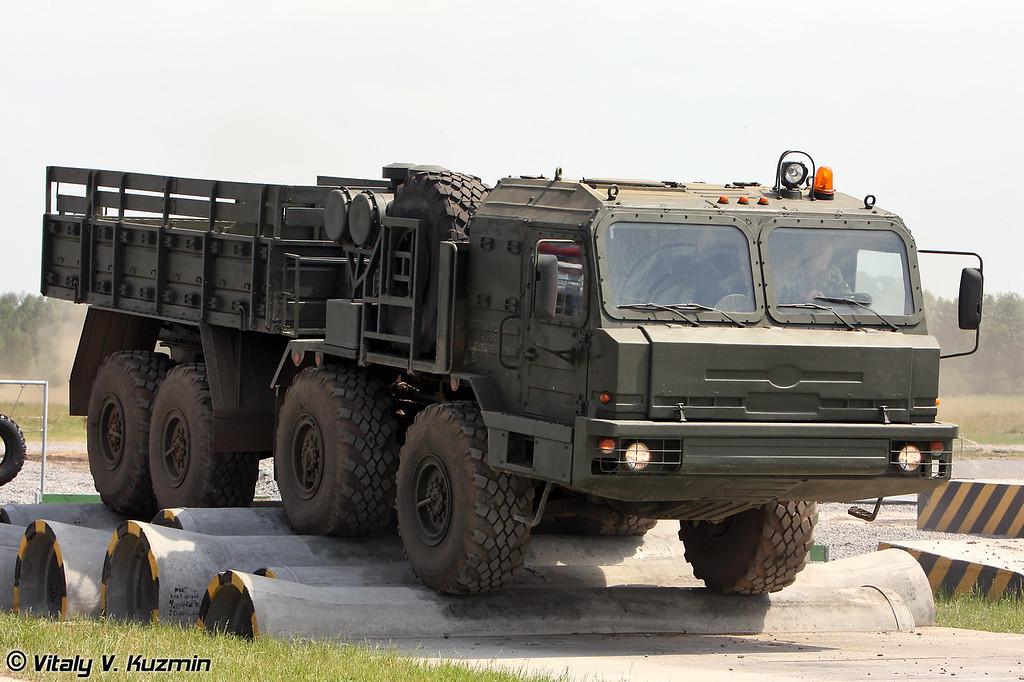 Балластный тягач БАЗ-6306 (BAZ-6306)