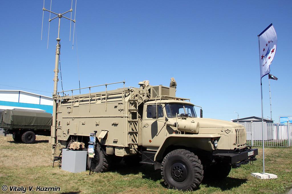 Автоматизированная станция помех УКВ-радиосвязи Р-330Т (R-330T jamming vehicle)