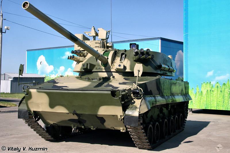 120-мм самоходное артиллерийское орудие 2С31 Вена (120-mm self-propelled cannon 2S31 Vena)