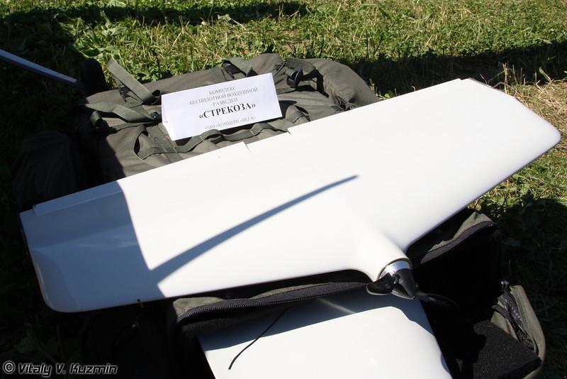 Комплекс беспилотной воздушной разведки Стрекоза на основе БПЛА ZALA 421-08 (Unmanned aerial reconnaissance complex Strekoza with ZALA 421-08 UAV)