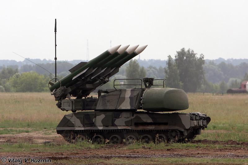 Самоходная огневая установка 9А310М1-2 ЗРК Бук-М1-2 (9A310M1-2 self-propelled launch vehicle for Buk-M1-2 Air defence system)