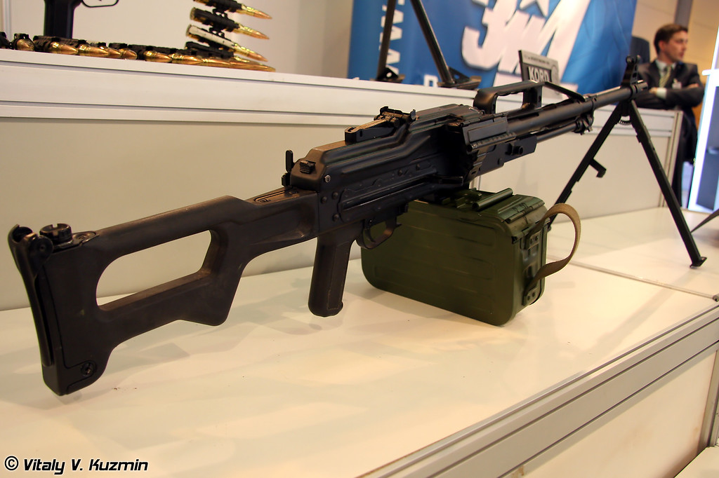 7,62-мм пулемет 6П41 Печенег (7.62-mm 6P41 Pecheneg machine gun)