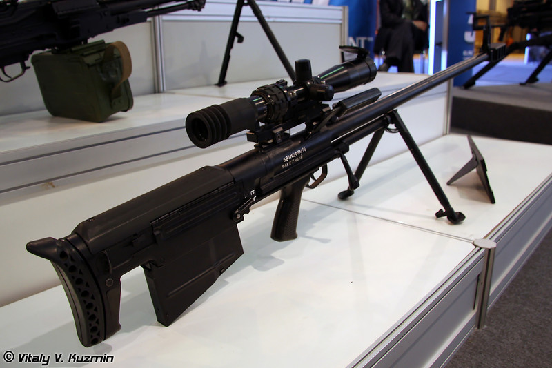 12,7-мм снайперский комплекс 6С8 (12.7-mm sniper system 6S8)