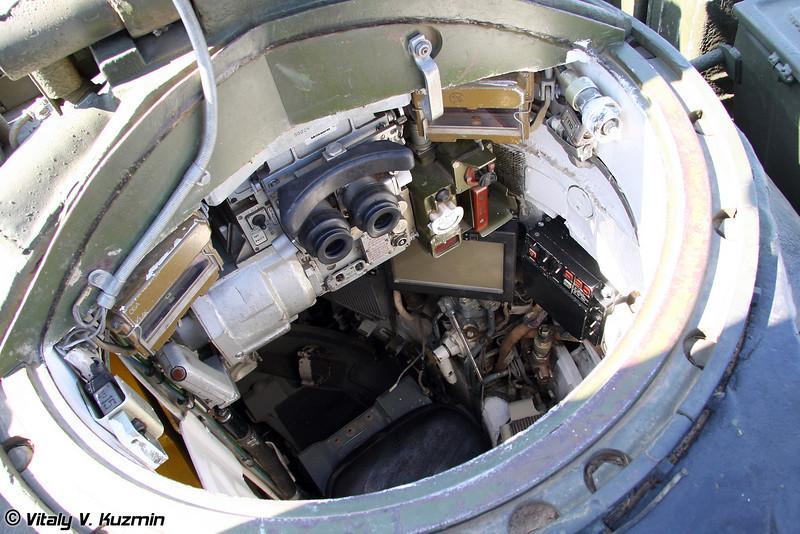 Опытный танк Объект 291 (Object 291) Место командира танка (Commander seat)