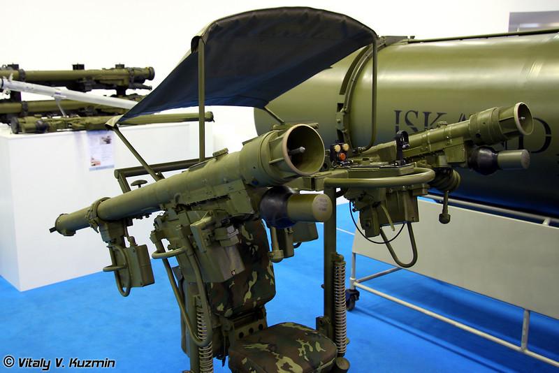 Опорно-пусковая установка Джигит для ПЗРК типа Игла (Support Launching Unit Dzhighit with Igla-type MANPADS)