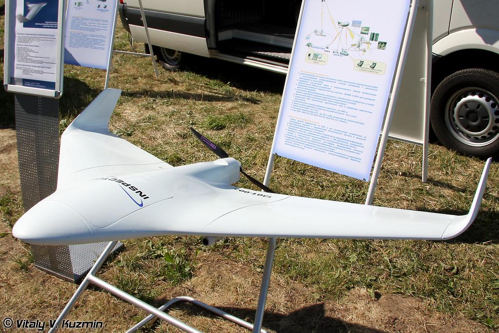 Беспилотный авиационный комплекс Инспектор 301 (Inspector 301 UAV)