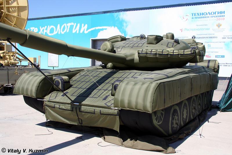 Макет Т-80БВ (T-80BV mock-up)