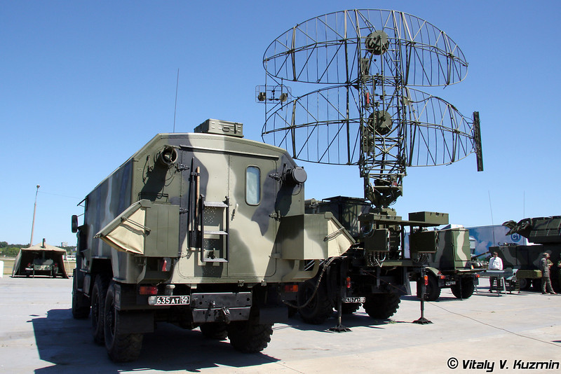 Радиолокационная станция 35Н6 Каста на базе Урал (35N6 Kasta radar on Ural chassis)