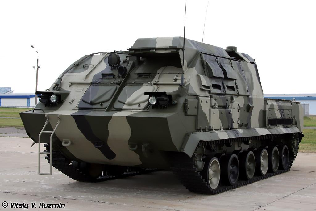 Пункт боевого управления 9С470 ЗРК Бук-М1-2 (9S470 command post vehicle for Buk-M1-2)