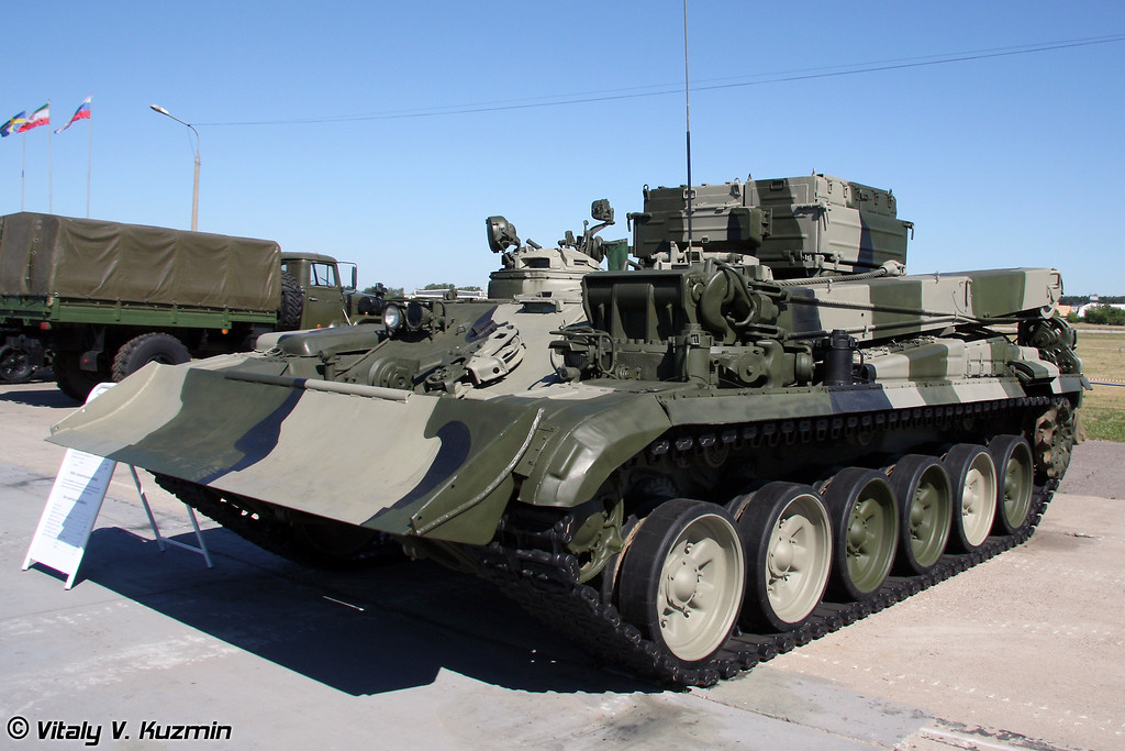 БРЭМ-1 (Armored recovery vehicle BREM-1)
