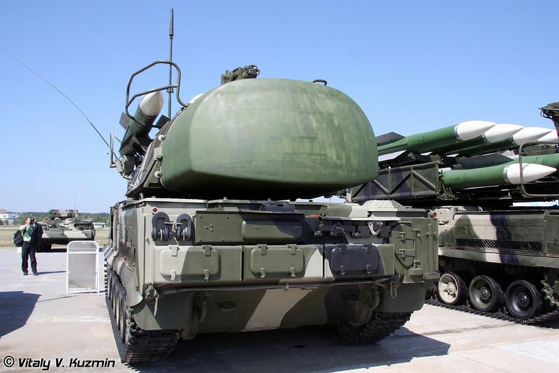 Самоходная огневая установка 9А310М1-2 ЗРК Бук-М1-2 (9A310M1-2 TELAR for Buk-M1-2 Air defence system)