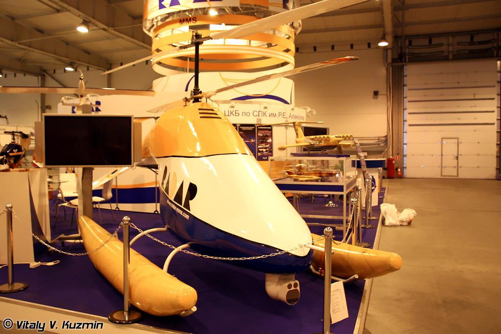 Беспилотный вертолет соосной схемы БПВ-500 (BPV-500 UAV)