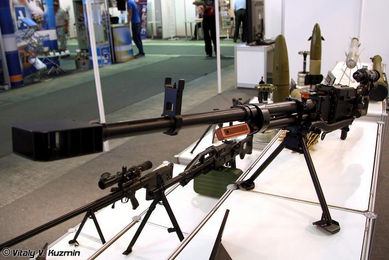 12,7-мм пулемет Корд (12.7-mm machine-gun Kord)