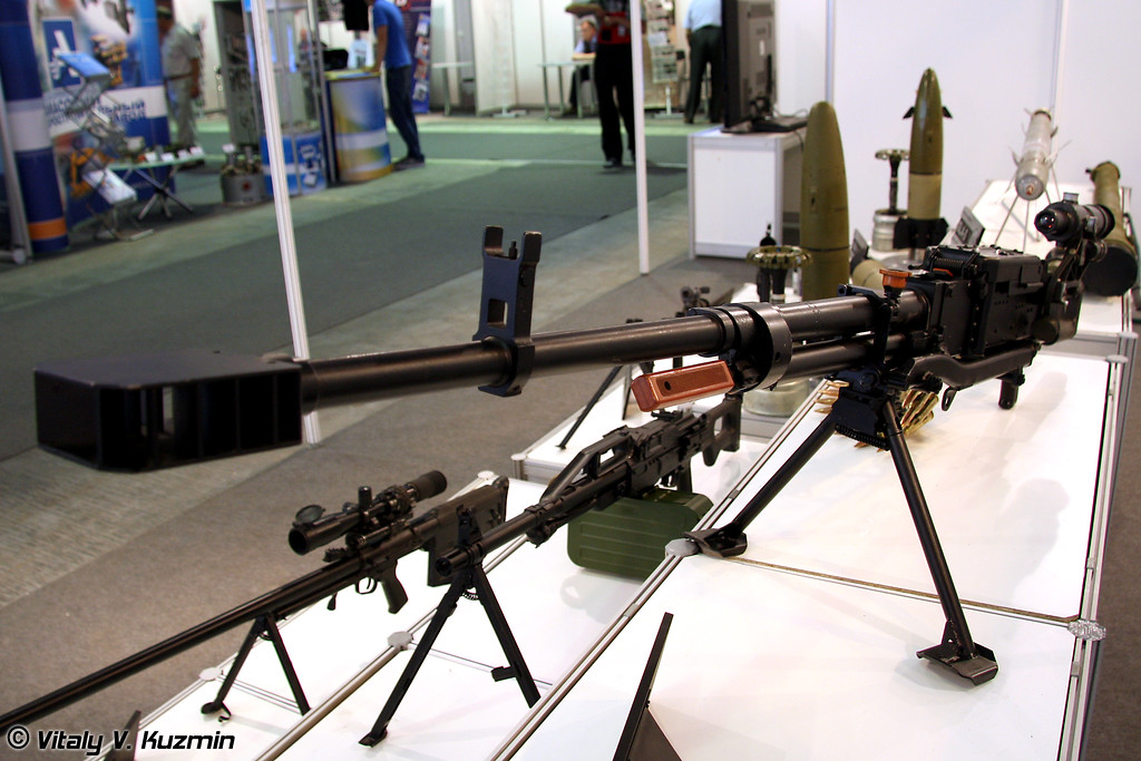 12,7-мм пулемет Корд (12.7-mm machine-gun Kord)