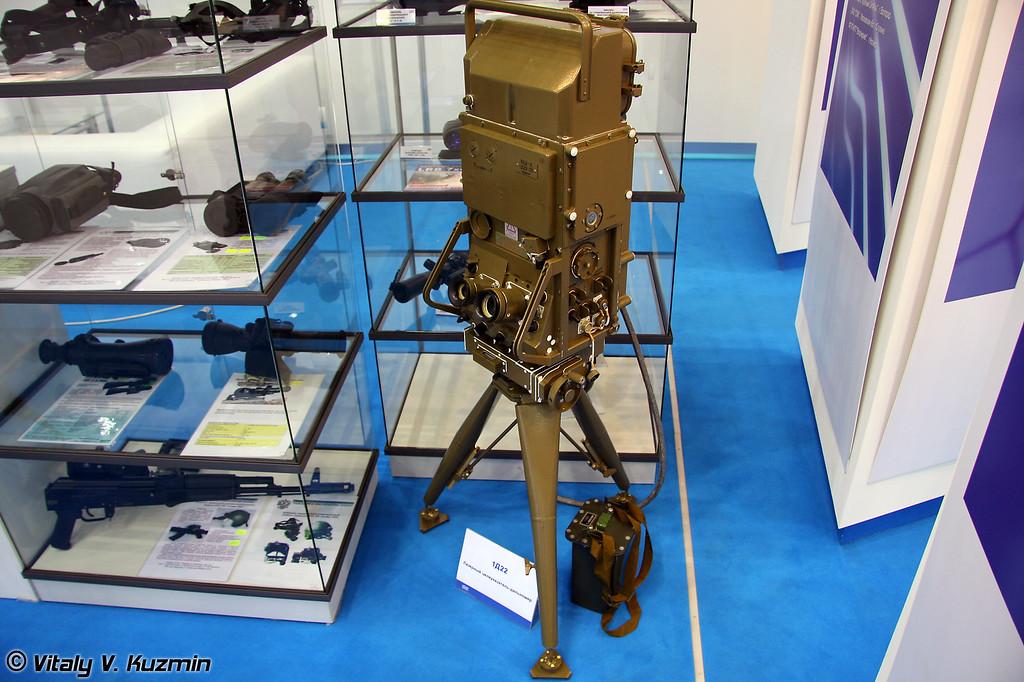 Лазерный целеуказатель-дальномер 1Д22 (Laser designator range-finder 1D22)