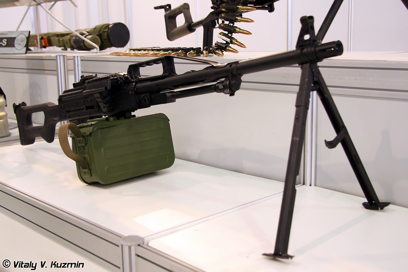 7,62-мм пулемет 6П41 Печенег (7.62-mm 6P41 Pecheneg machine gun)