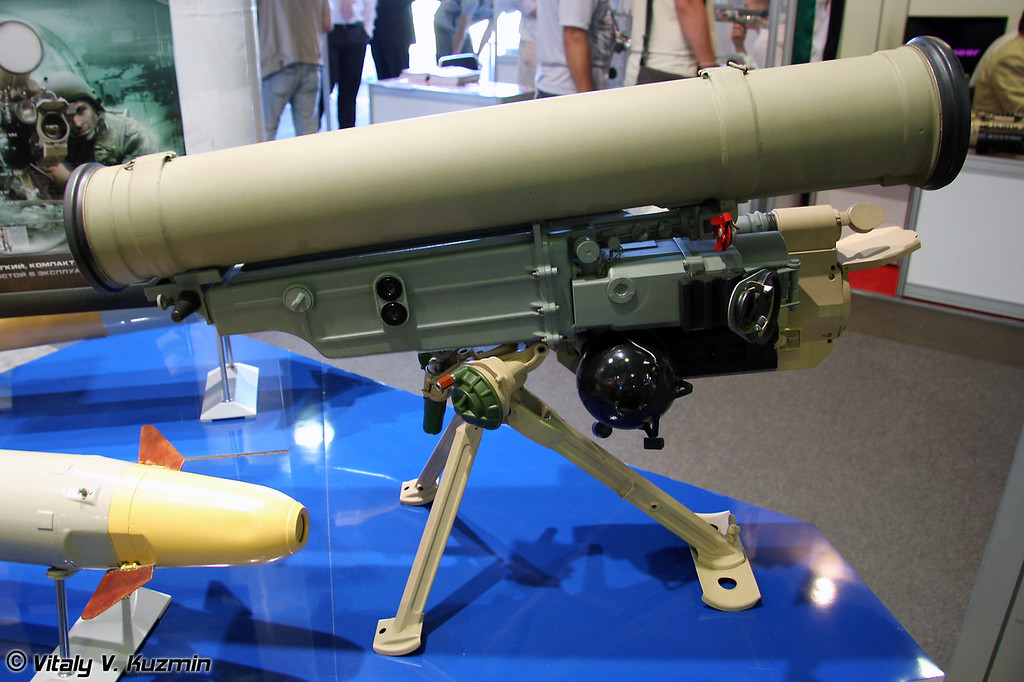 Противотанковый ракетный комплекс Метис-М1 (Anti-tank guided missile system Metis-M1)