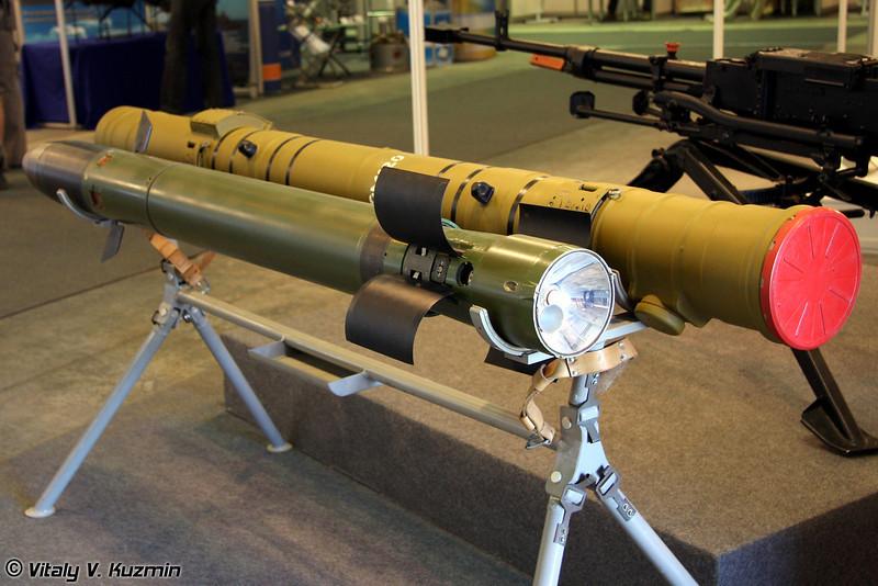 Противотанковая управляемая ракета 9М120 (9M120 antitank guided missile)