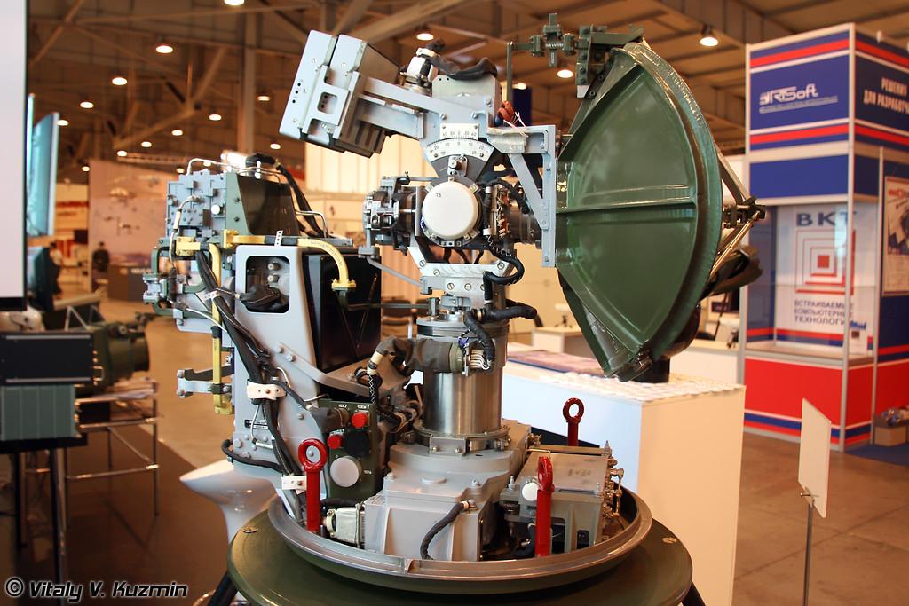 РЛС миллиметрового диапазона для летательных аппаратов (Millimeter-wave radiolocation station for aerial vehicles)