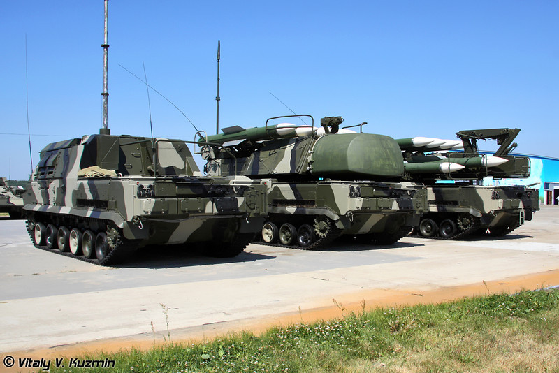 ЗРК Бук-М1-2 (Buk-M1-2 air defence system)