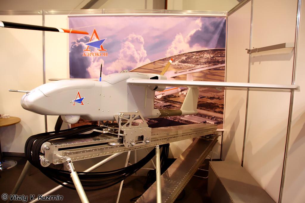 Многоцелевой разведывательной летательный аппарат Рубеж (Multifunctional reconnaissance UAV Rubezh)