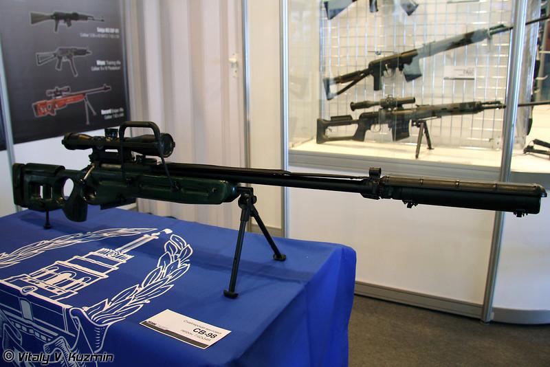 7.62-мм снайперская винтовка СВ-98 (SV-98 sniper rifle)