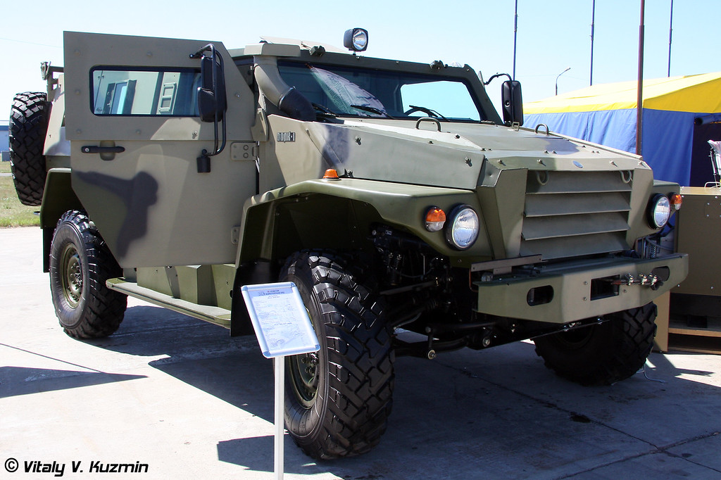 Бронеавтомобиль ВПК-3927 Волк (Armored vehicle VPK-3927 Volk)