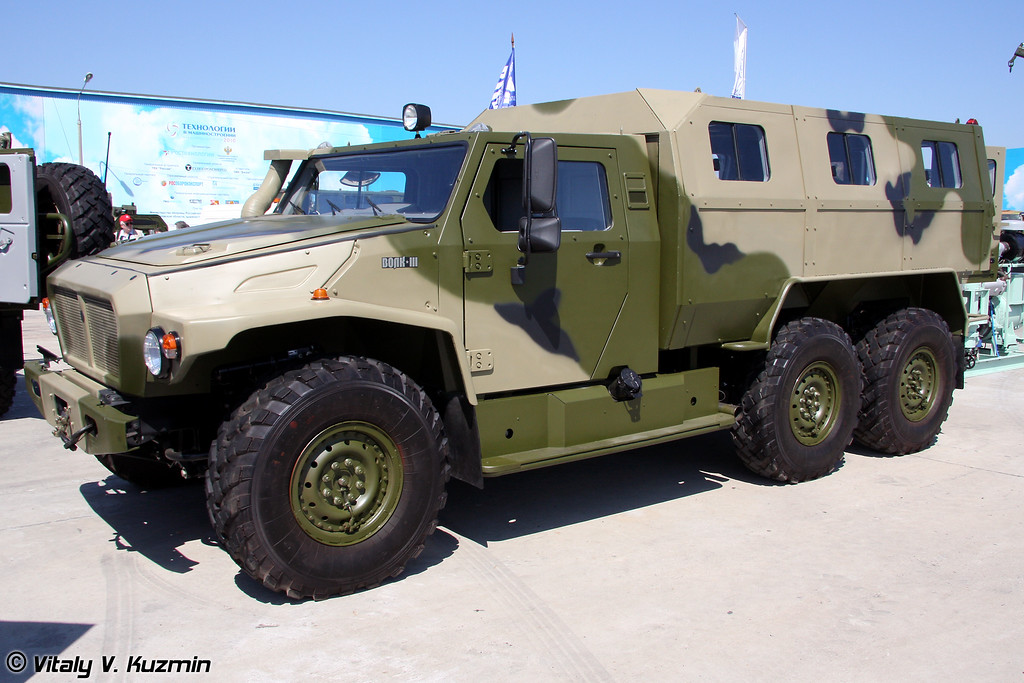 Бронеавтомобиль ВПК-39273 Волк (Armored vehicle VPK-39273 Volk)