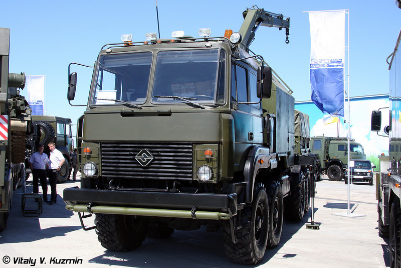 Ремонтно-эвакуационная машина РЭМ-КЛ на шасси Урал-532362-1012 (Recovery vehicle REM-KL on Ural-532362-1012 chassis)