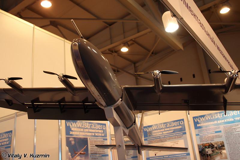 Комплекс для мониторинга земной поверхности Истра-13 (UAV complex Istra-13)