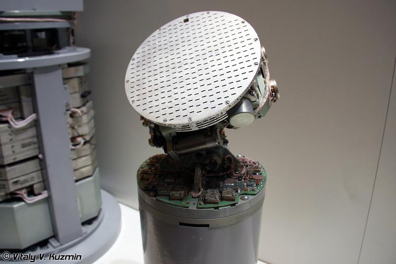 Активная радиолокационная головка самонаведения миллиметрового диапазона волн (Active missile self-guidance head)